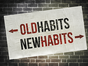trade bad habits for good ones